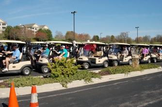 golfers ready